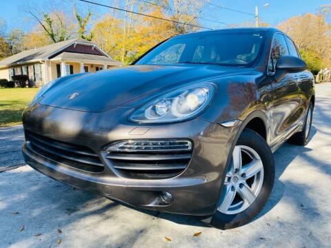 2011 Porsche Cayenne for sale at Cobb Luxury Cars in Marietta GA