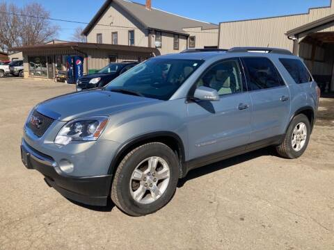 2008 GMC Acadia for sale at COUNTRYSIDE AUTO INC in Austin MN