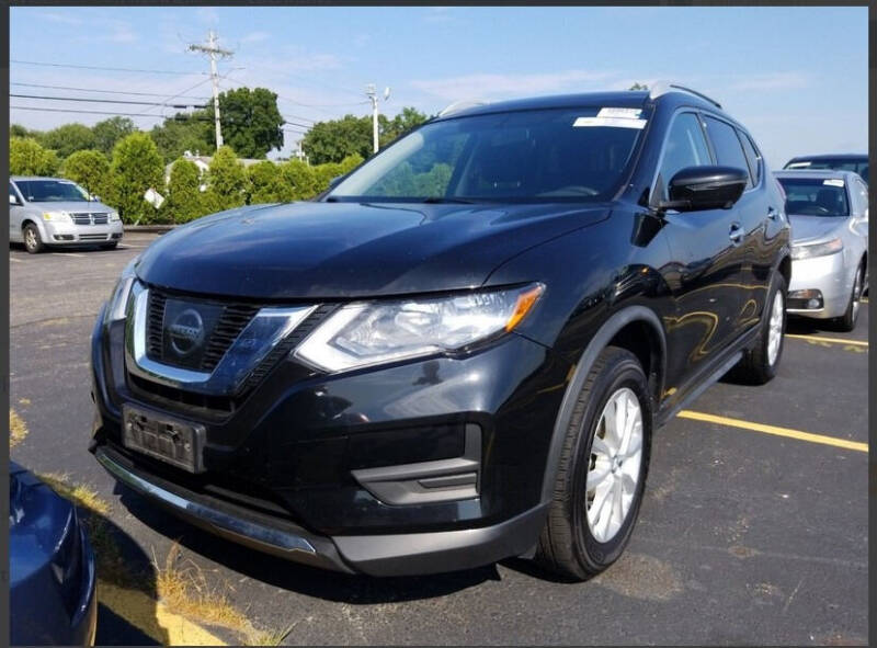 2017 Nissan Rogue for sale at Washington Street Auto Sales in Canton MA