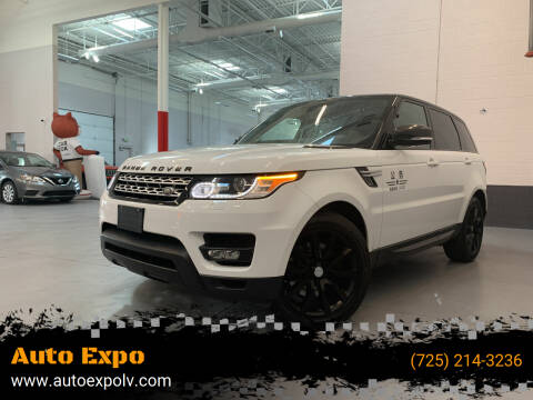 2014 Land Rover Range Rover Sport for sale at Auto Expo in Las Vegas NV