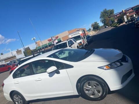 2015 Honda Civic for sale at Sanaa Auto Sales LLC in Denver CO