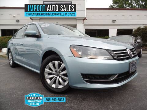 2012 Volkswagen Passat for sale at IMPORT AUTO SALES in Knoxville TN