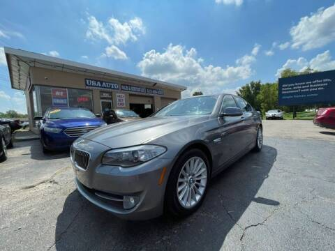 2011 BMW 5 Series for sale at USA Auto Sales & Services, LLC in Mason OH