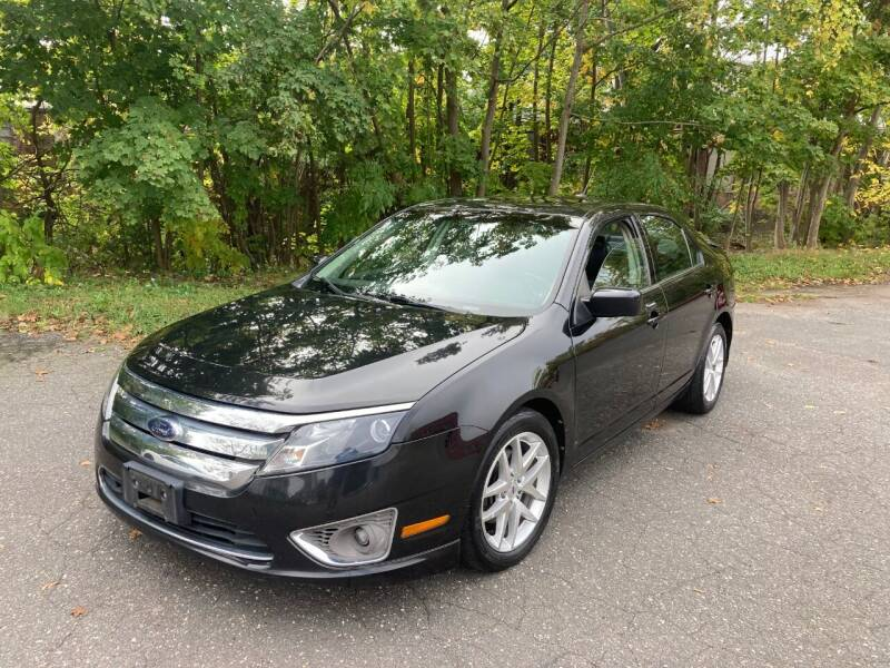 2010 Ford Fusion for sale at ENFIELD STREET AUTO SALES in Enfield CT