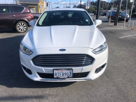 2016 Ford Fusion Hybrid for sale at Car House in San Mateo CA