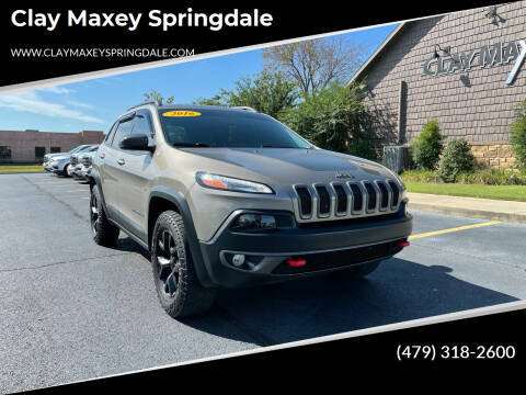 2016 Jeep Cherokee for sale at Clay Maxey Springdale in Springdale AR