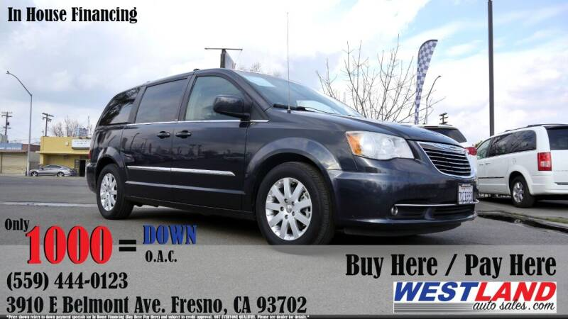 2014 Chrysler Town and Country for sale at Westland Auto Sales in Fresno CA