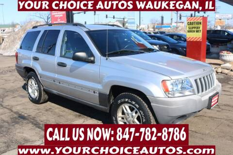 2004 Jeep Grand Cherokee for sale at Your Choice Autos - Waukegan in Waukegan IL