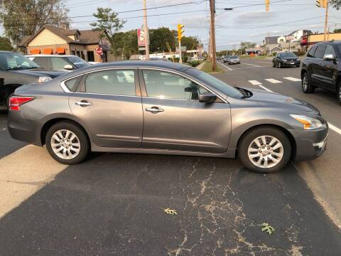 2014 Nissan Altima for sale at Village Auto Sales in Milford CT