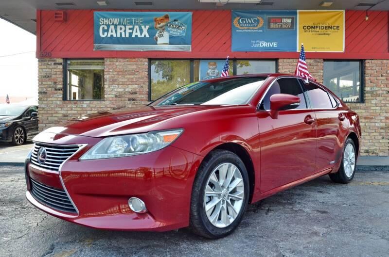 2013 Lexus ES 300h for sale at ALWAYSSOLD123 INC in North Miami Beach FL