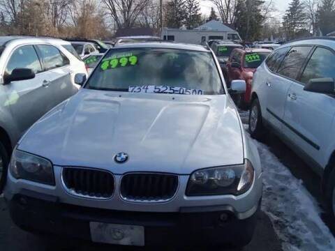 2004 BMW X3 for sale at Al's Linc Merc Inc. in Garden City MI