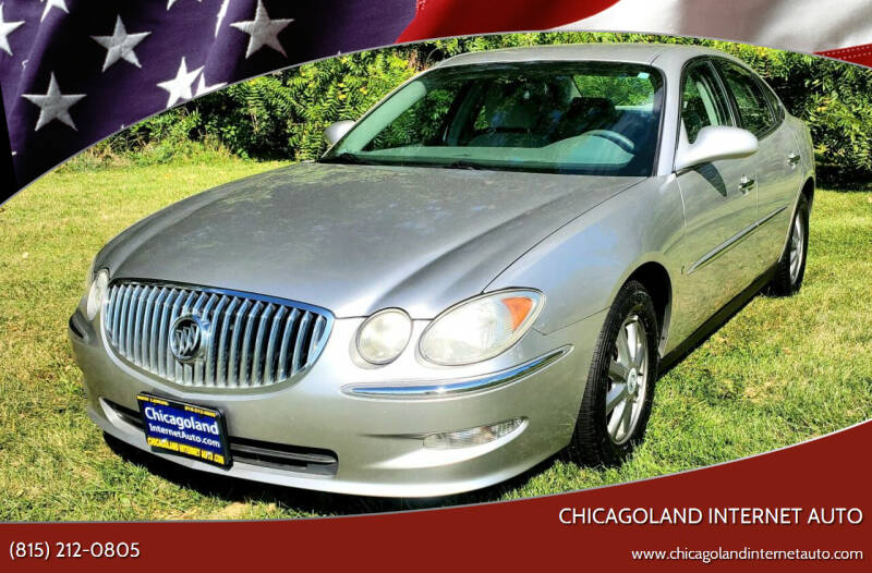 2008 Buick LaCrosse for sale at Chicagoland Internet Auto - 410 N Vine St New Lenox IL, 60451 in New Lenox IL