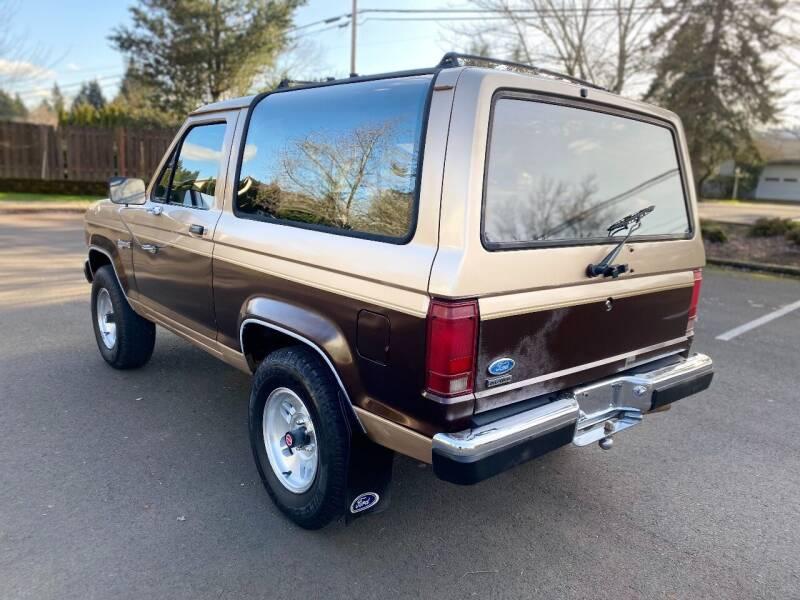 1987 Ford Bronco II XLT