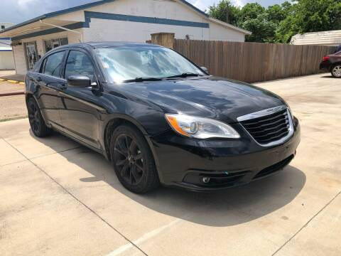 2013 Chrysler 200 for sale at Texas Auto Broker in Killeen TX