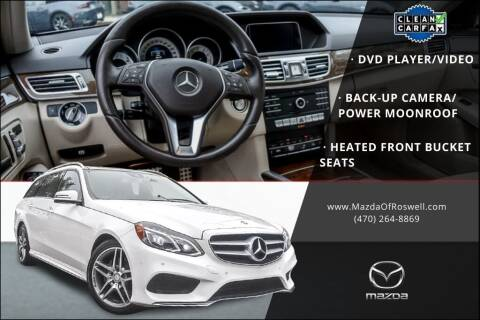 2016 Mercedes-Benz E-Class for sale at Mazda Of Roswell in Roswell GA