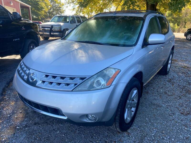 2007 Nissan Murano for sale at Sartins Auto Sales in Dyersburg TN