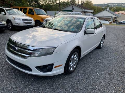 2010 Ford Fusion for sale at JM Auto Sales in Shenandoah PA