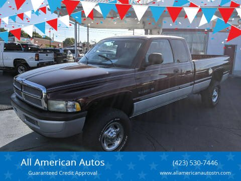 2001 Dodge Ram Pickup 2500 for sale at All American Autos in Kingsport TN