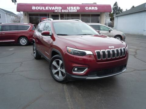 2019 Jeep Cherokee for sale at Boulevard Used Cars in Grand Haven MI