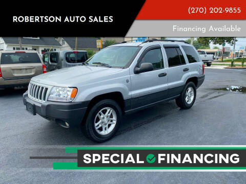 2004 Jeep Grand Cherokee for sale at ROBERTSON AUTO SALES in Bowling Green KY