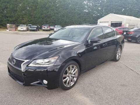 2014 Lexus GS 350 for sale at Pinnacle Acceptance Corp. in Franklinton NC