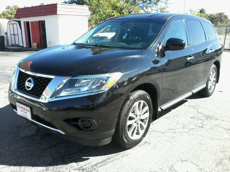 2013 Nissan Pathfinder for sale at HARMAN MOTORS INC in Salisbury MD