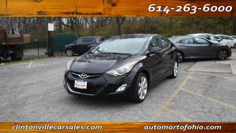 2011 Hyundai Elantra for sale at Clintonville Car Sales - AutoMart of Ohio in Columbus OH