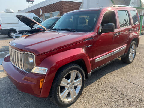 2012 Jeep Liberty for sale at GO GREEN MOTORS in Denver CO