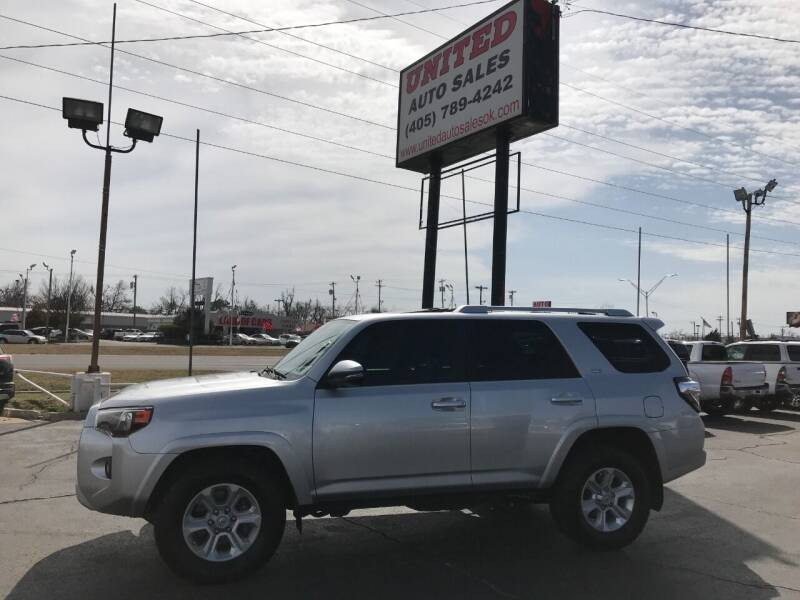2014 Toyota 4Runner for sale at United Auto Sales in Oklahoma City OK