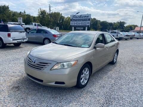 2008 Toyota Camry for sale at Jackson Automotive in Smithfield NC