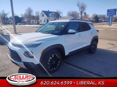 2021 Chevrolet TrailBlazer for sale at Lewis Chevrolet Buick Cadillac of Liberal in Liberal KS