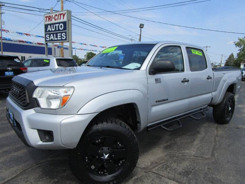 2012 Toyota Tacoma for sale at TRI CITY AUTO SALES LLC in Menasha WI