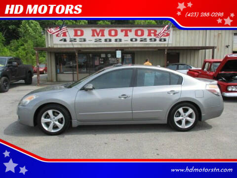 2008 Nissan Altima for sale at HD MOTORS in Kingsport TN