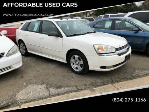 2004 Chevrolet Malibu Maxx for sale at AFFORDABLE USED CARS in Richmond VA