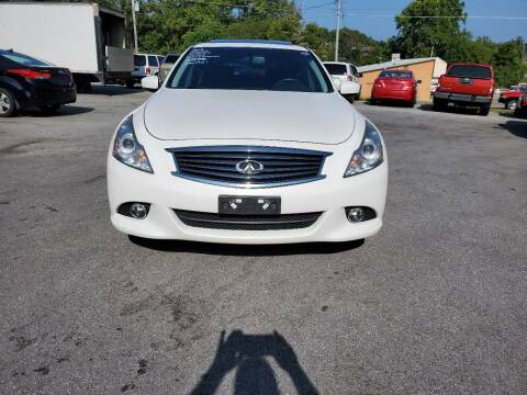 2013 Infiniti G37 Sedan for sale at DISCOUNT AUTO SALES in Johnson City TN