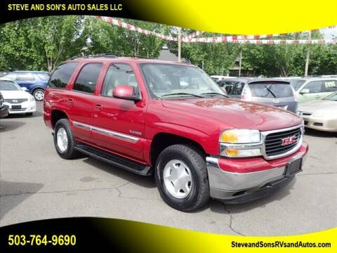 2006 GMC Yukon for sale at Steve & Sons Auto Sales in Happy Valley OR
