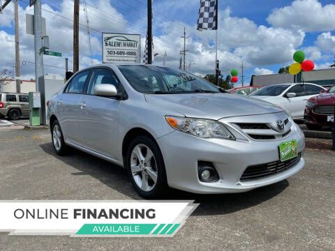 2011 Toyota Corolla for sale at Salem Auto Market in Salem OR