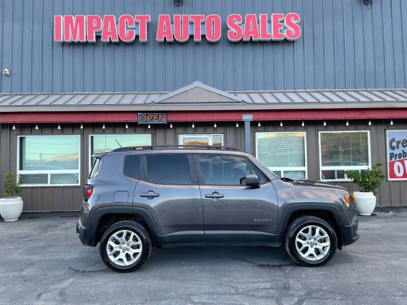 2017 Jeep Renegade for sale at Impact Auto Sales in Wenatchee WA