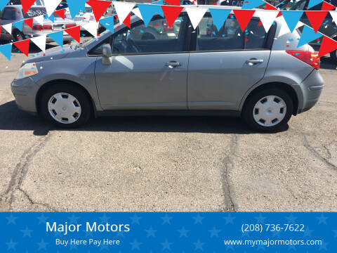 2008 Nissan Versa for sale at Major Motors in Twin Falls ID