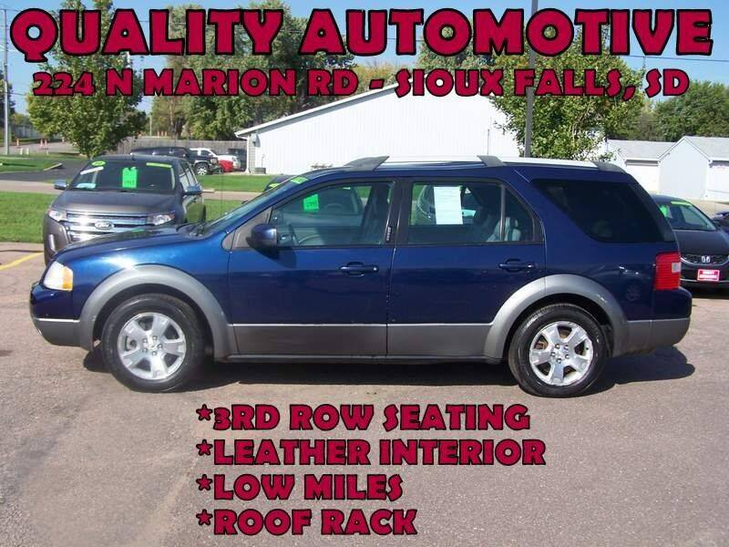 2005 Ford Freestyle for sale at Quality Automotive in Sioux Falls SD