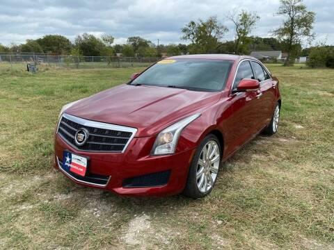 2014 Cadillac ATS for sale at LA PULGA DE AUTOS in Dallas TX