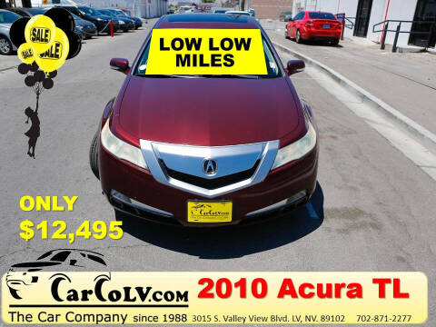 2010 Acura TL for sale at The Car Company in Las Vegas NV