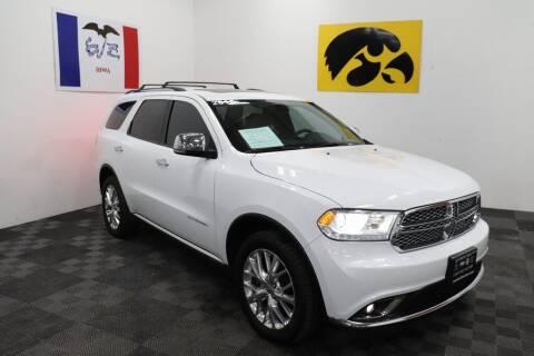 2015 Dodge Durango for sale at Carousel Auto Group in Iowa City IA