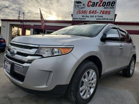 2012 Ford Edge for sale at CarZone in Marysville CA