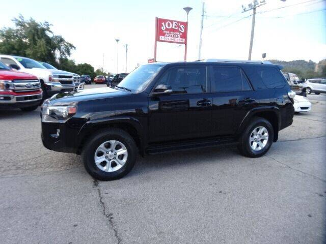2018 Toyota 4Runner for sale at Joe's Preowned Autos in Moundsville WV