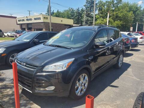 2013 Ford Escape for sale at J & J Used Cars inc in Wayne MI