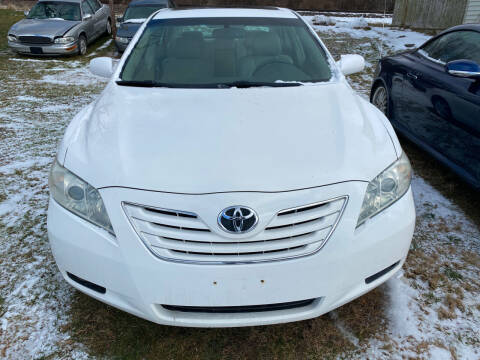 2007 Toyota Camry for sale at Richard C Peck Auto Sales in Wellsville NY