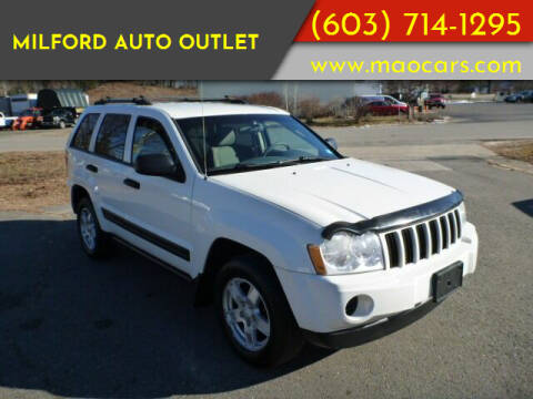 2006 Jeep Grand Cherokee for sale at Milford Auto Outlet in Milford NH