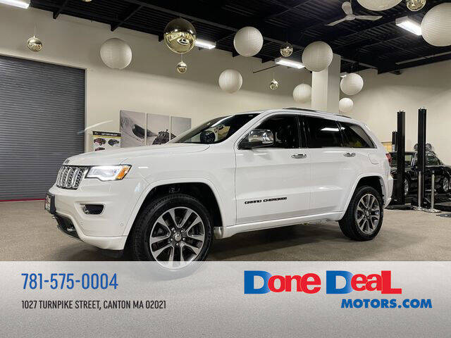 2017 Jeep Grand Cherokee for sale at DONE DEAL MOTORS in Canton MA