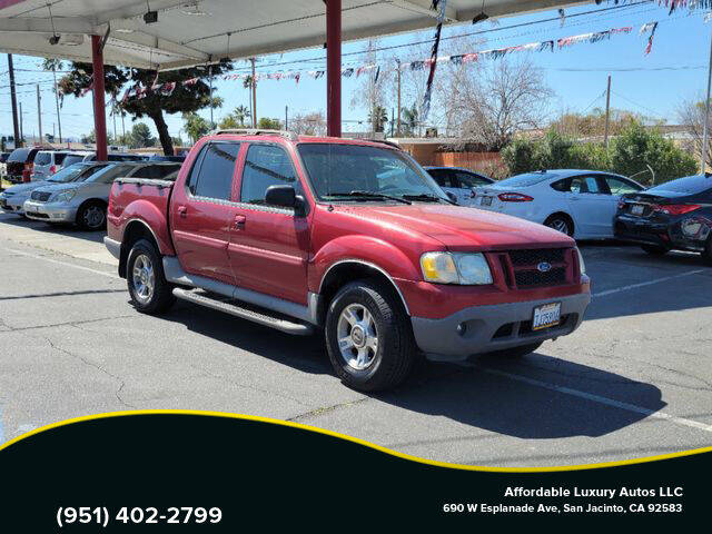 2003 Ford Explorer Sport Trac for sale at Affordable Luxury Autos LLC in San Jacinto CA